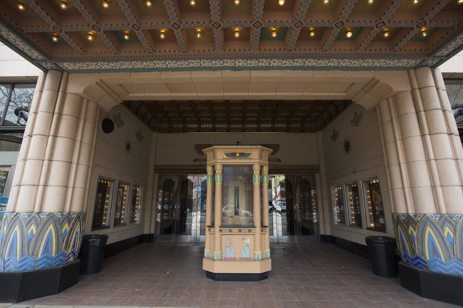 The entrance of the Peery's Egyptian Theater on Wednesday, Feb. 22, 2017, in Ogden. BRIANA SCROGGINS/Standard-Examiner